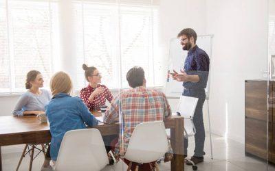La comunicación interna entre directivos/as de la empresa en 2022